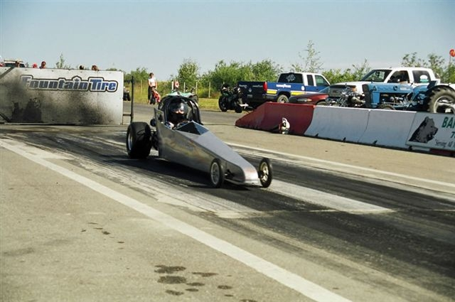 Dane and his Jr Dragster